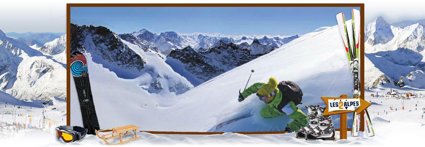 sci les deux alpes