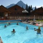chalet faverot - piscina giochi