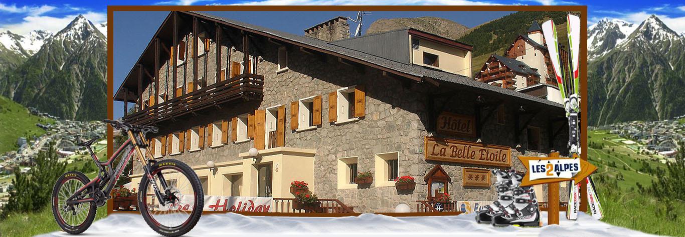 hotel la belle etoile estate les deux alpes