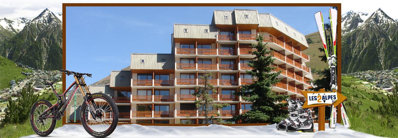 appartamenti les deux alpes estate