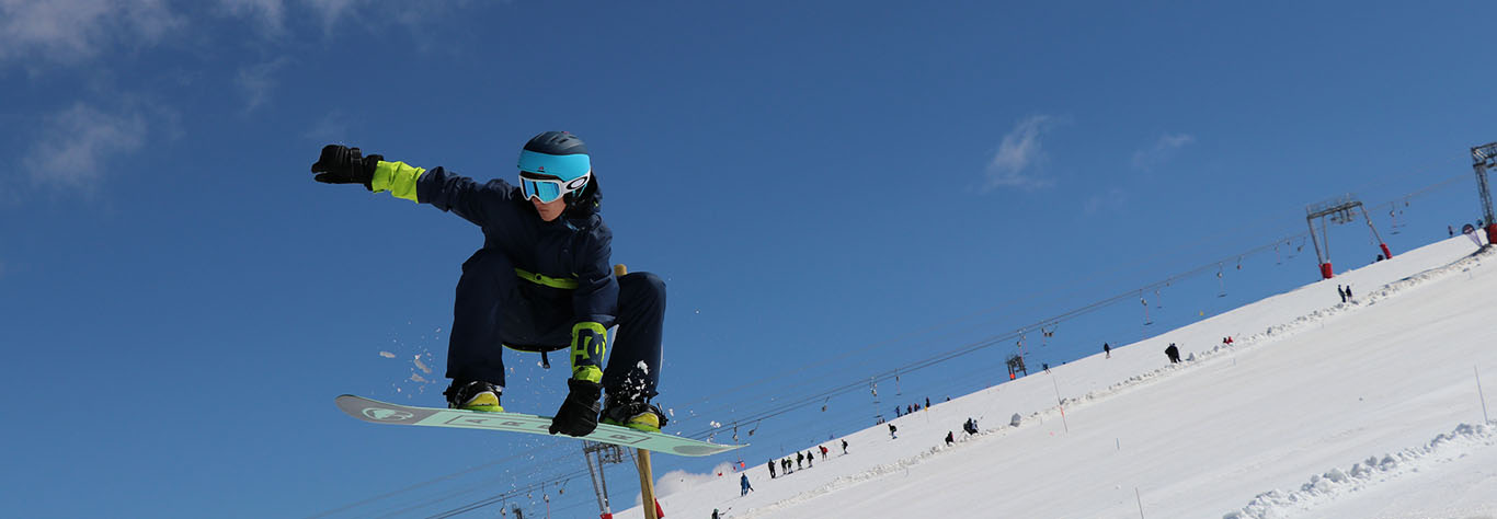 snowboard les deux alpes